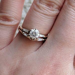 Jewelry - 14k Diamond Engagement Wedding Set